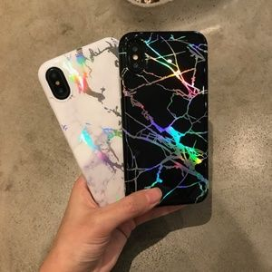 Accessories - NEW iPhone Max/XR/X/XS/7/8/Plus Glossy Marble case